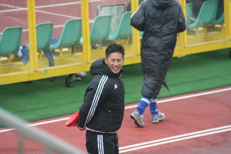 J1通算1万ゴール目を決めた元ガンバ大阪、大阪学院大の前田雅文コーチ