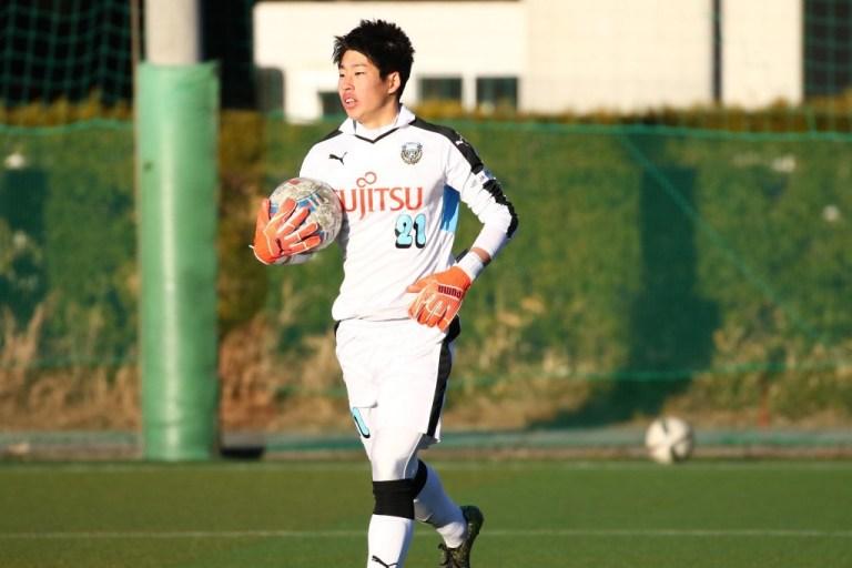 練習試合に出場した早坂勇希選手