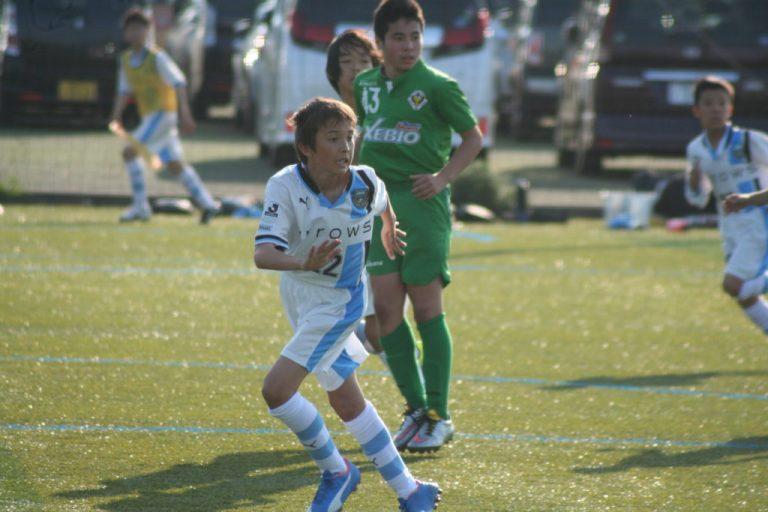 練習試合に出場した安江海ラウル選手