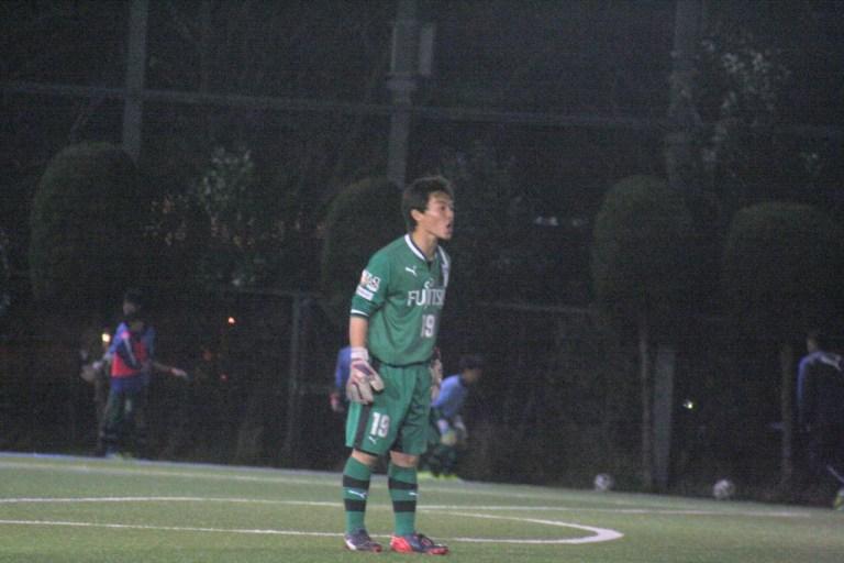 練習試合に出場した黒澤凌平選手