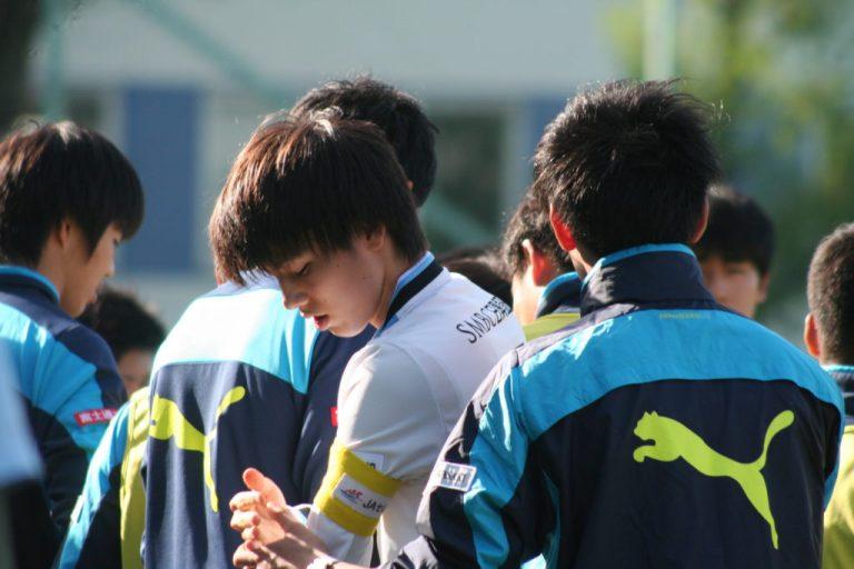キャプテンの田中碧選手