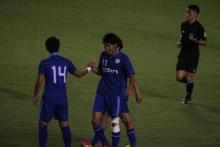 鈴木国友選手が勝ち越しゴール