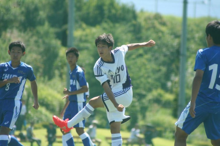 横浜F・マリノスユースの棚橋尭士選手
