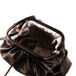 Women's Shirred Vintage Bag