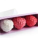 Rose & Heart Design Scented Soap Gift Set