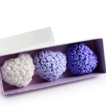 Rose & Heart Design Scented Stone Gift Package