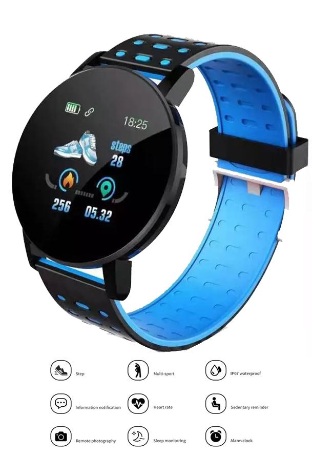 Unisex Silicone Strap Bluetooth Smart Watch