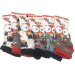 Baby's Boy's Short Booties Socks- 6 Pairs