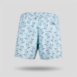 Men's Patterned Swim Trunks