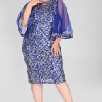 Big Size Patterned Dress