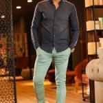 Pocketed Green Pants