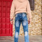 Men's Ripped Pocket Pants
