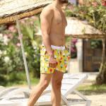 Men's Yellow Swim Trunk