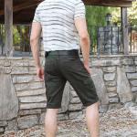 Men's Pocket Khaki Shorts