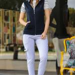 Women's Navy Blue 3 Piece Sweat Suit