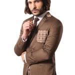 Men's Ginger Cotton Slim Fit Jacket