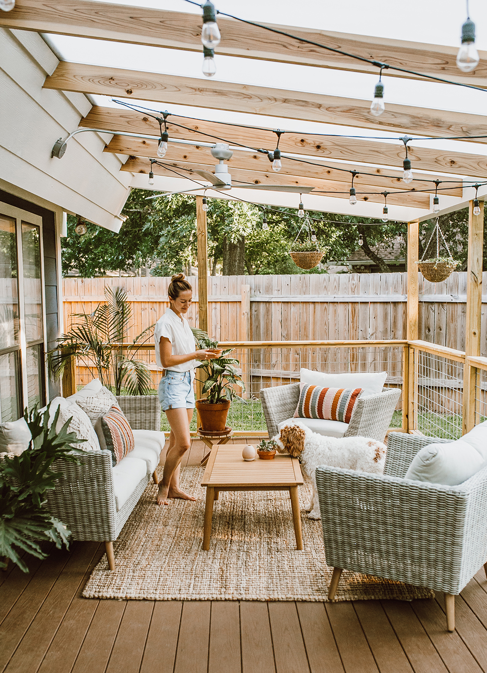 Before & After: Our Patio Reveal! - LivvyLand | Austin ... on My Patio Design id=46493