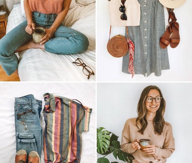 Livvyland June  Spring Summer Instagram Roundup Outfits