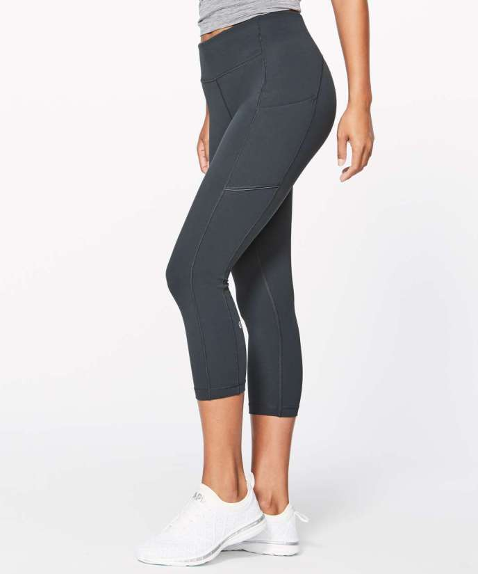e300c9b30e Lululemon Sd Up Crop 21 Melanite Lulu Fanatics