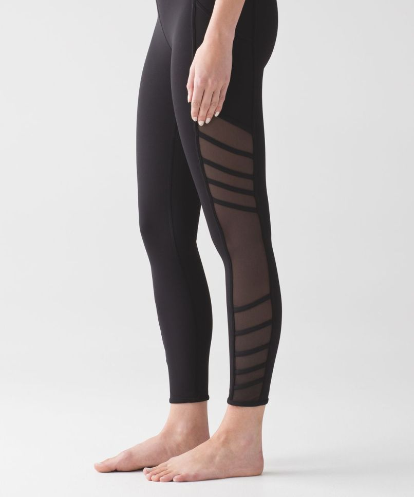 655772ba60 Lululemon Wild And Free Tight Black Lulu Fanatics