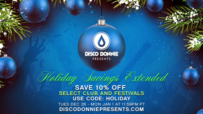 holiday sale to save 10% on tickets