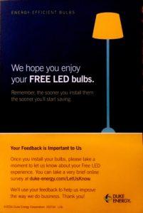Free LED Bulbs