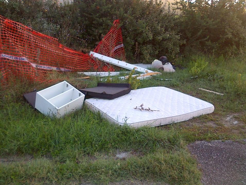 Foto R2-Discarica lato nord via Funaioli-3.9.15 ore 07.08