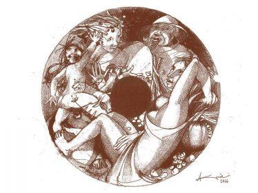 disegno medaglia angelo grilli