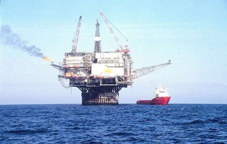 Oil Rig in Brent Oil Field in North Sea. © Karsten Smid
