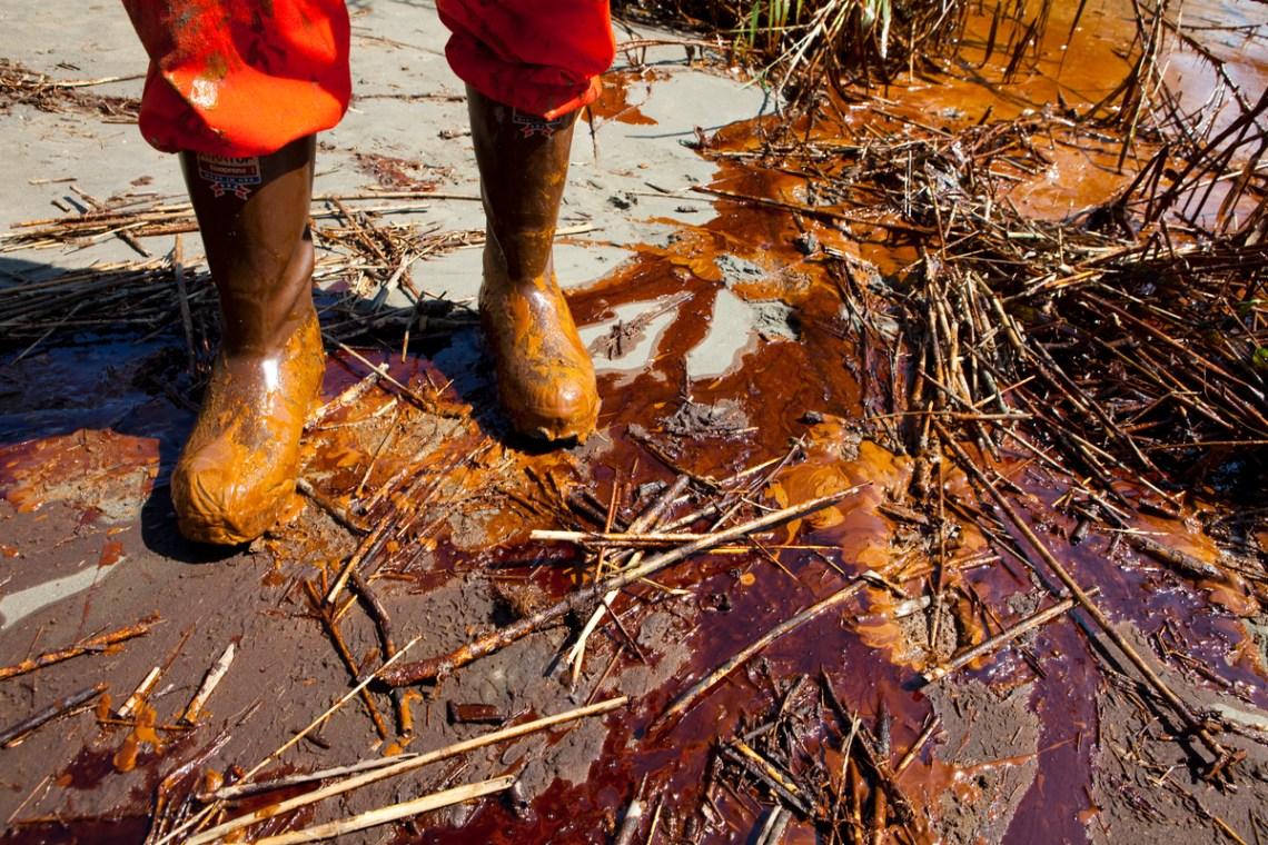 Oil on Shore of Louisiana. © Daniel Beltrá