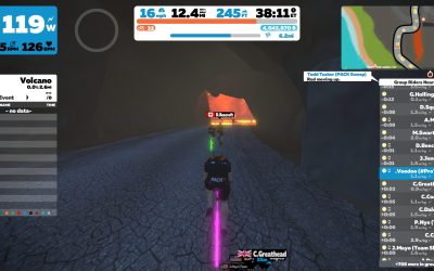 FGOB: I'm Fat, I'm Slow; the Zwift Fence is a Dumb Idea – With that, Here's Some Techno