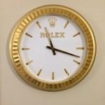 Rolex Rolex Wall Clock