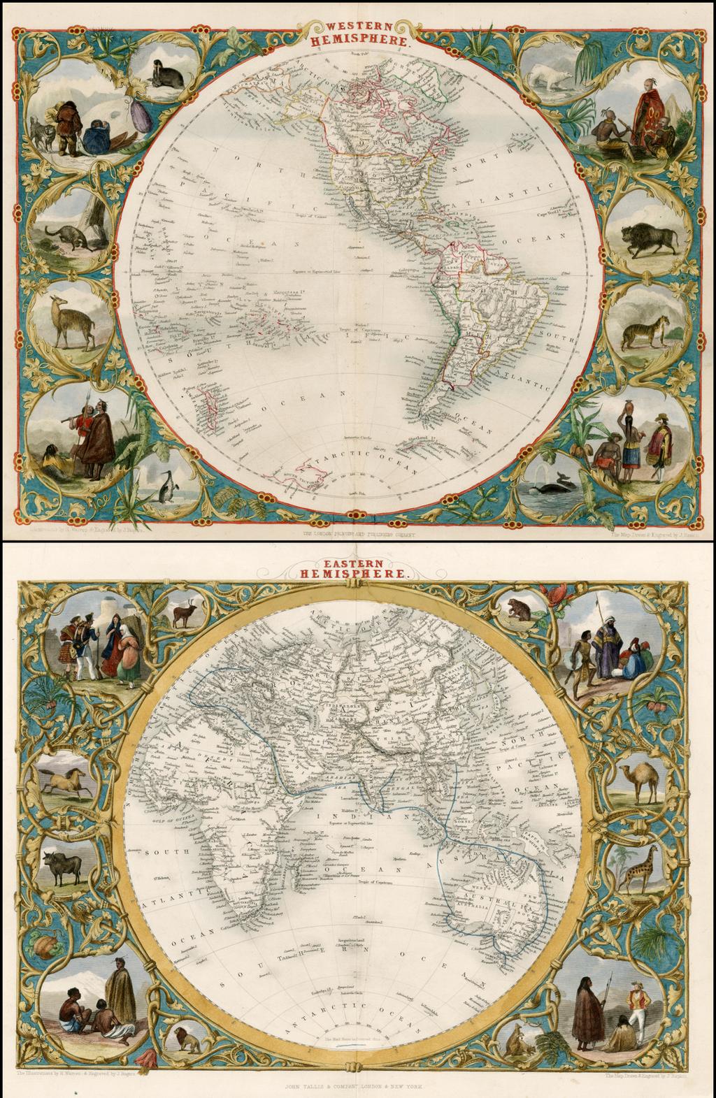 Western Hemisphere And Eastern Hemisphere