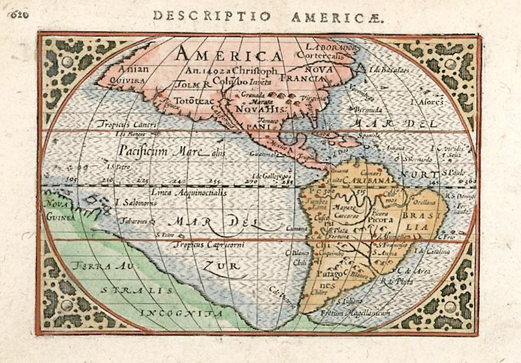 America An 1492 A Christoph Colubo Inveta Barry Lawrence Ruderman Antique Maps Inc