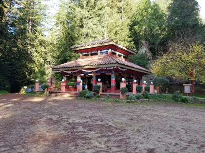 The Temple on top of the mountain.