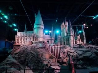 @ Warner Bros. Studio Tour London – Model of Hogwarts