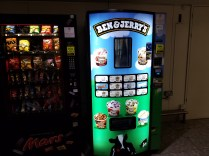 An Ice cream machine in LHR