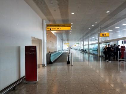 London LHR airport