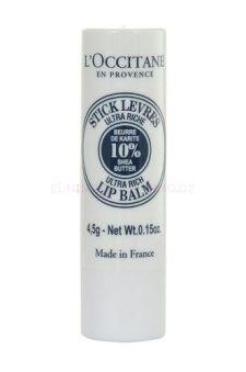 L´Occitane Shea Butter Lip Balm Stick péče o rty