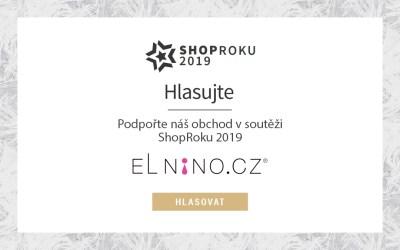 ShopRoku 2019: Šance pro oblíbený obchod Elnino.cz