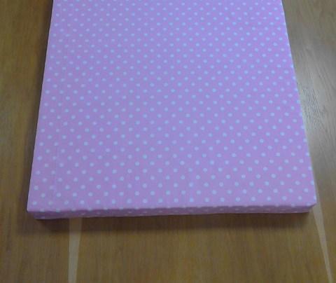 Dětská matrace růžová