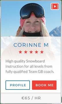 Corinne M Instructor La Plagne
