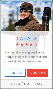 Lara D Instructor La Plagne