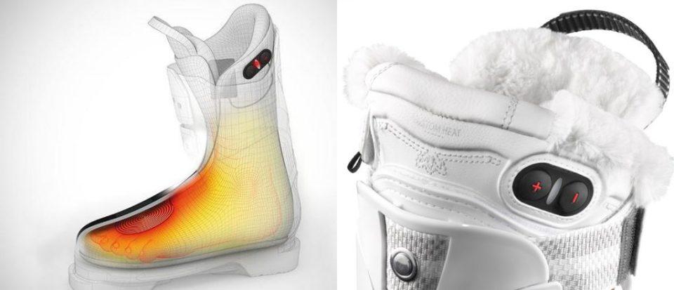 salomon heated ski boot liners