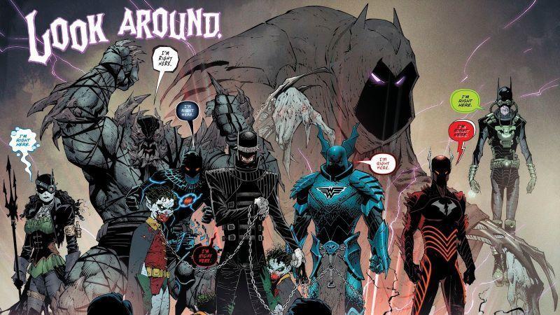 Dark Knights: Metal; cuando el Metal y DC Comics se fusionan   El Club Del  Rock