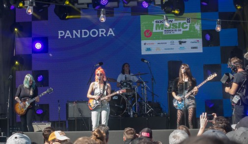 Bleached @ Pandora Stage