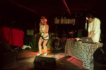 Elle Exxe at The Delancey (Mondo.NYC)