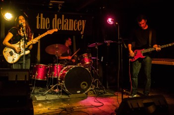 Raina Bee & The Hives at The Delancey (gg showcase)