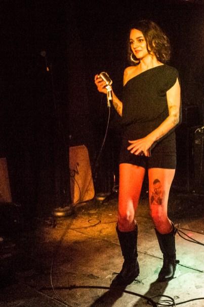 Corina Corina at The Delancey (glamglare showcase)