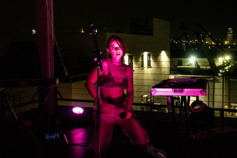 Negative Gemini at Elsewhere Rooftop (Northside)